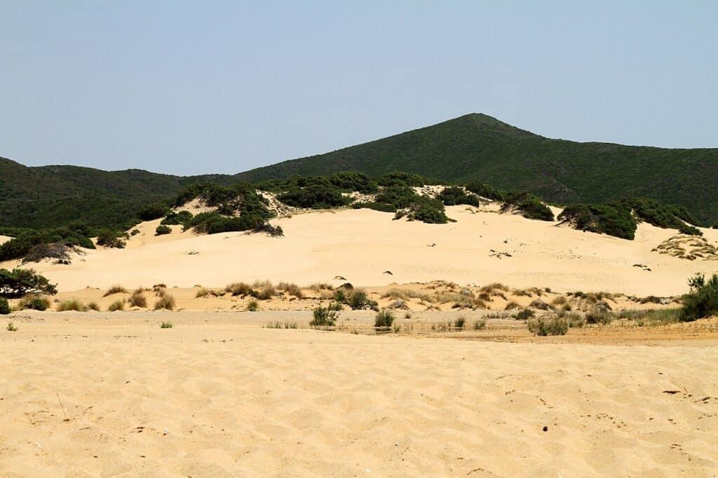 guida alle spiagge di dune italiane Piscinas Sardegna